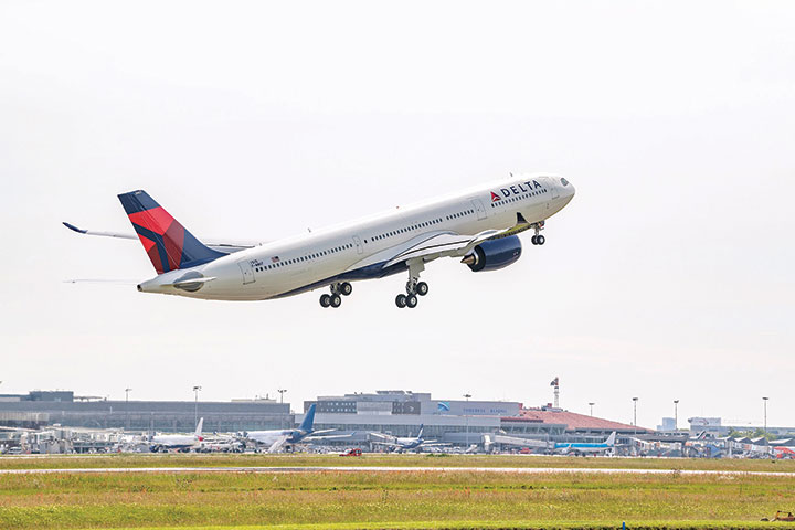 Maiden Flight of Delta Air Lines First A330neo Aircraft