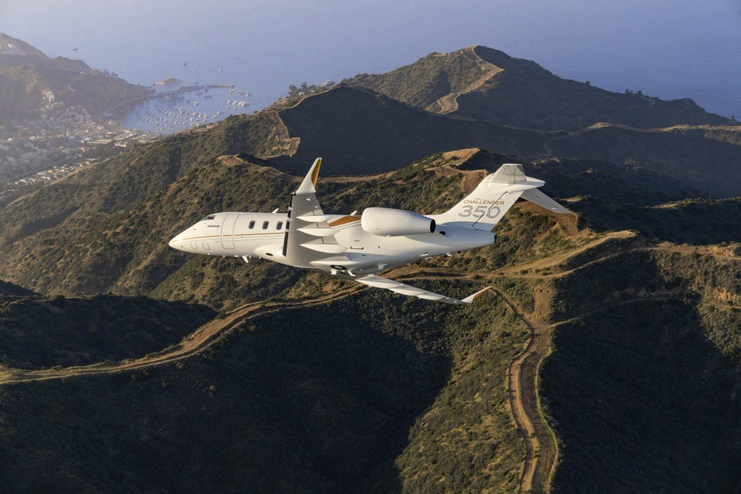 Bombardier Challanger350 aircraft completed 10 city pair speed records in 24 hours