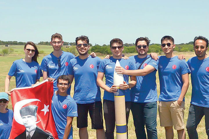 Turkish Team: Winner of the Model Satellite Competition