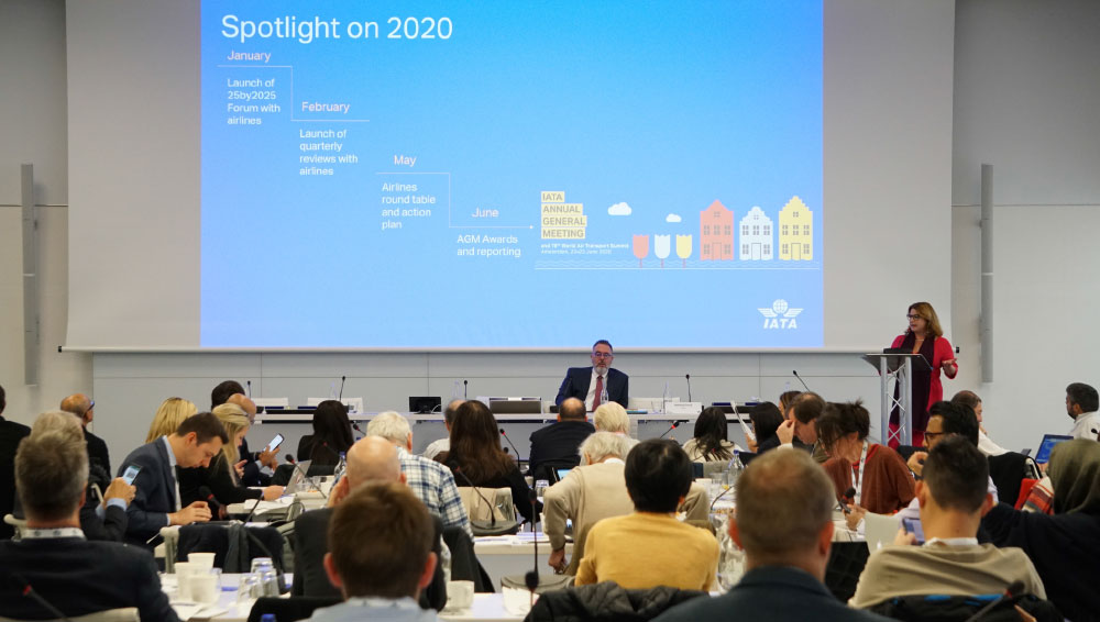 IATA Executives Gathered with Global Aviation Media in Geneva