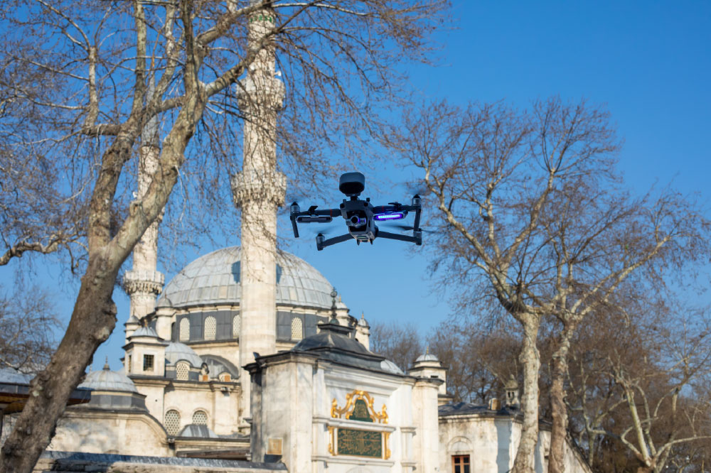 Modern Day Watchmen Drones Scout for Natural Disasters & Outbreaks