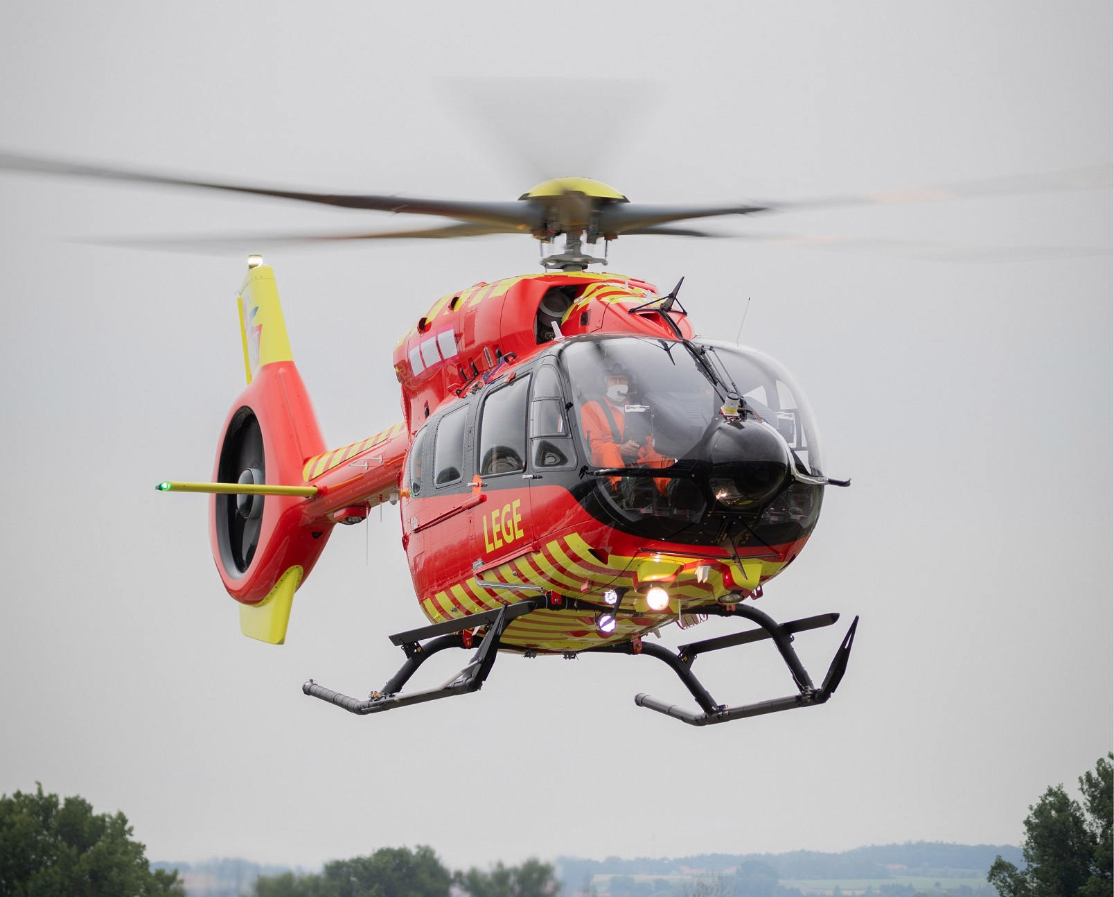 Norwegian Air Ambulance Foundation Receives First ever Five-Bladed Airbus H145 Helicopter