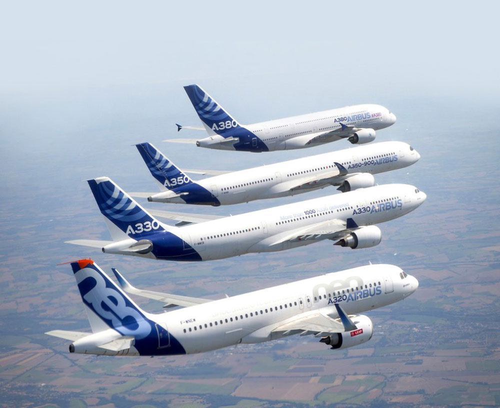 Airbus Delivered 196 Aircraft the First Half of the Year