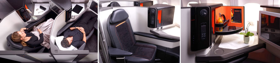 Exceptional Widebody  Premium Seats Expertly Crafted Into Narrow-body Platforms