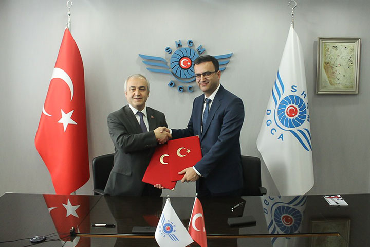 Turkish DGCA and TRtest Signed Cooperation Protocol